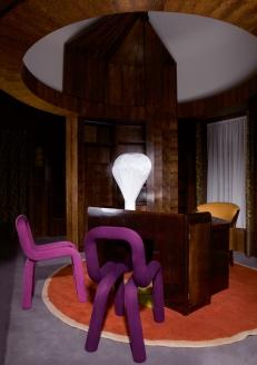 Chaise de Big Game et suspension d'Inga Sempé, par Moustache, Musée des Arts Décoratifs (Paris)