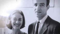Legendary artists and couple Alex Katz and his muse wife Ada
