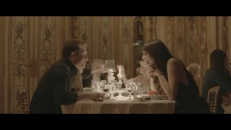 Harcourt crystal glass in the movie by Sonia Sieff for Baccarat Legendary starring Caroline Maigret and Thierry Fremont