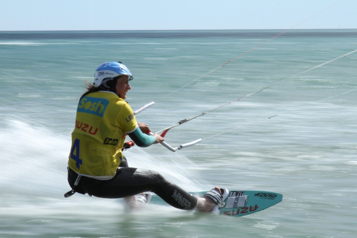 Sosh Cup, french professional kite surfer Marie Desandre Navarre