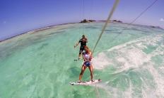 Marie Desandre Navarre, Kite surfeuse professionnelle, membre du team Sosh.