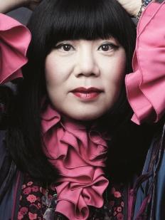 American fashion designer Anna Sui
