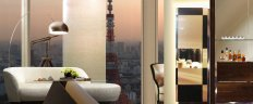 Andaz Tokyo by Toni Chi with beautiful view on Tokyo Tower