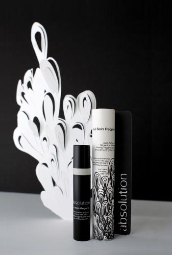 Absolution, gamme de cosmétique créée par Isabelle Caron