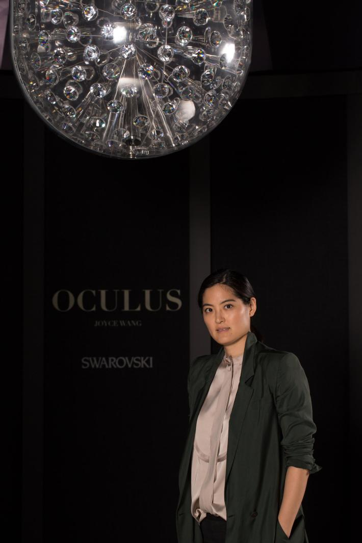 Joyce Wang with Oculus