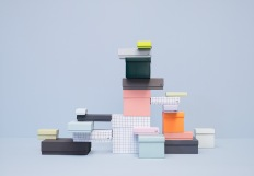 Iconic Hay storage boxes in paper
