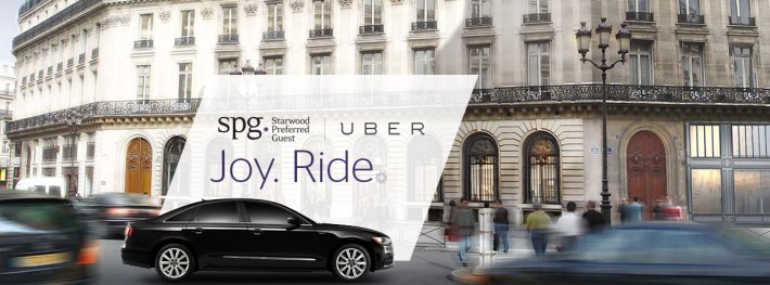 spg uber starwoods preferred guests