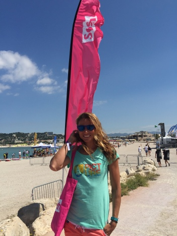 Pro Kite Surfer Charlotte Consorti