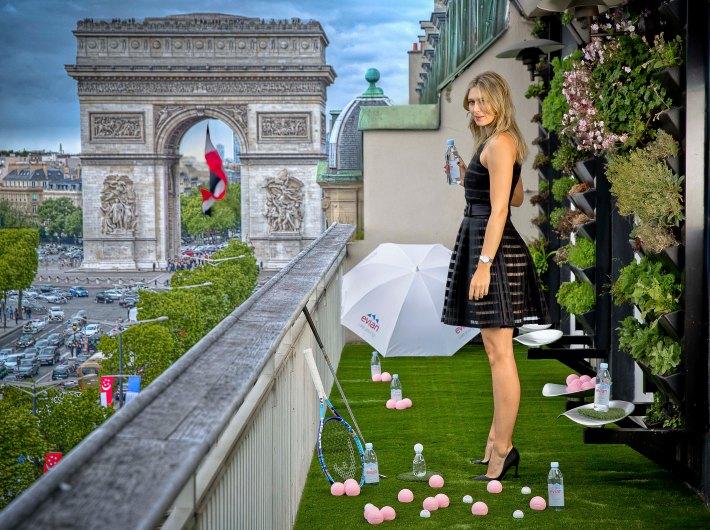 Evian Maria Sharapova tennis Head