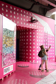 Propercorn temporary event installation