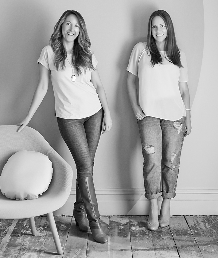 creatives-staff Creative Director Bree Leech and Producer & stylist Heather Nette King dulux